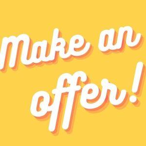I love making deals! Make an Offer!